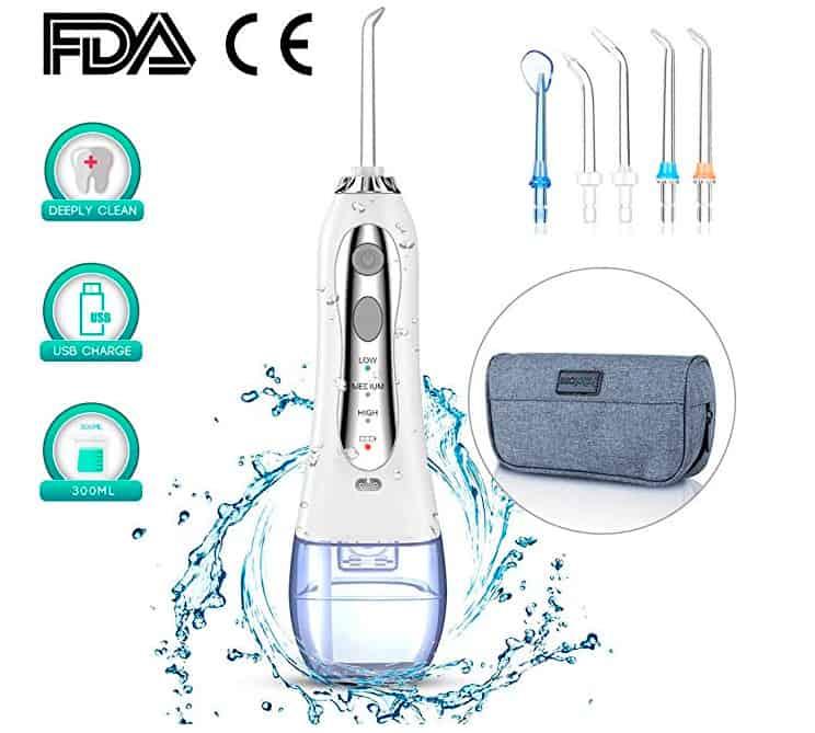 irrigadores dentales