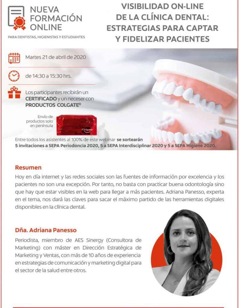 webinar formacion dental Colgate