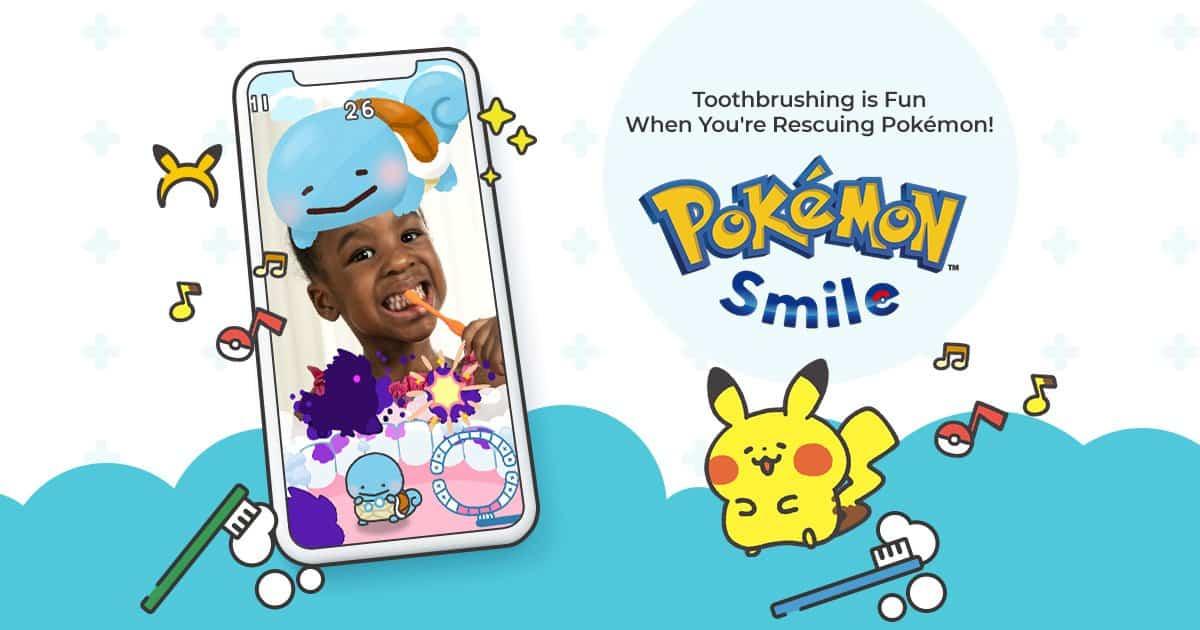 Pokémon Smile app: tu hijo no olvidará cepillarse los dientes